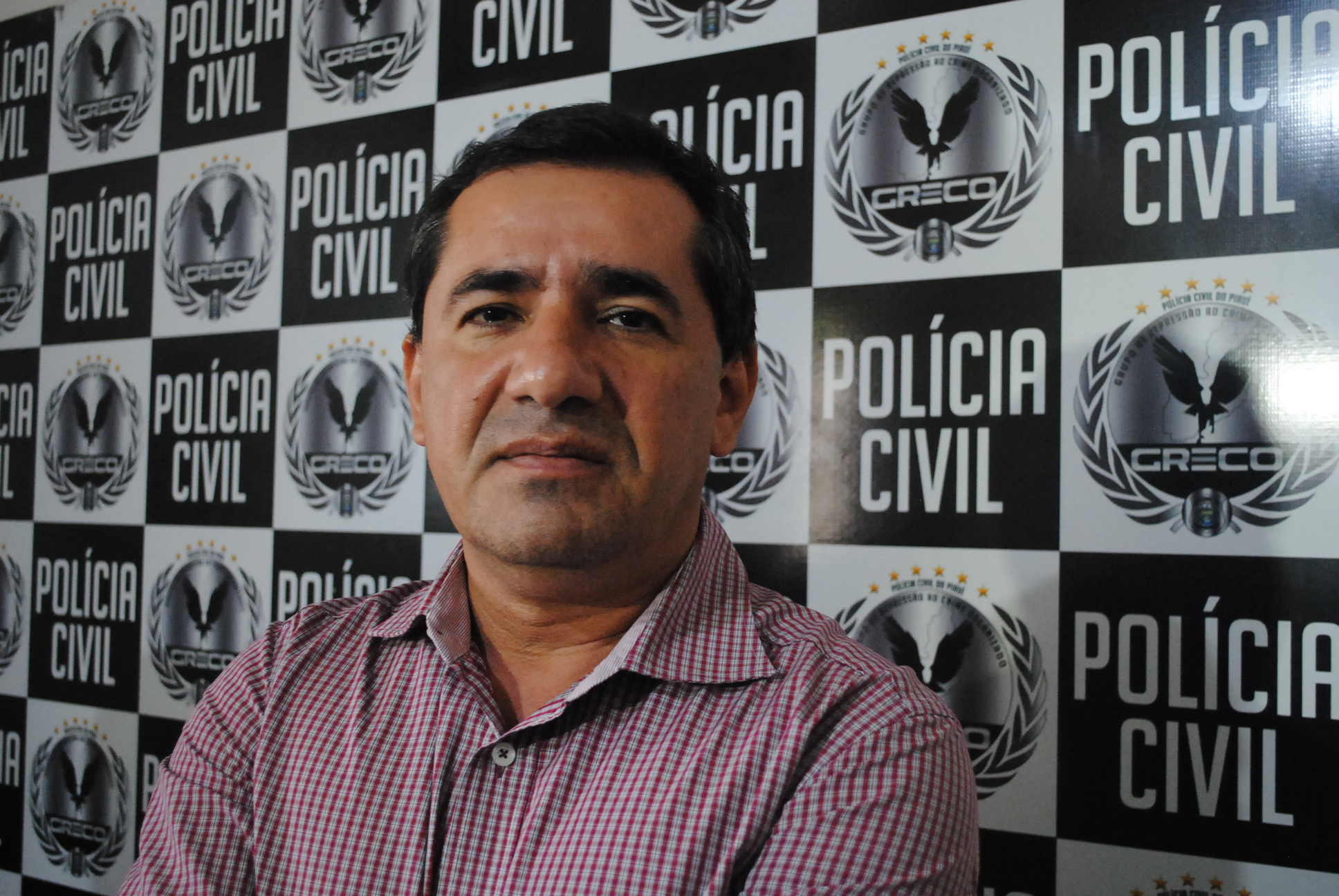 Delegado Willame Martins, comandante do GRECO