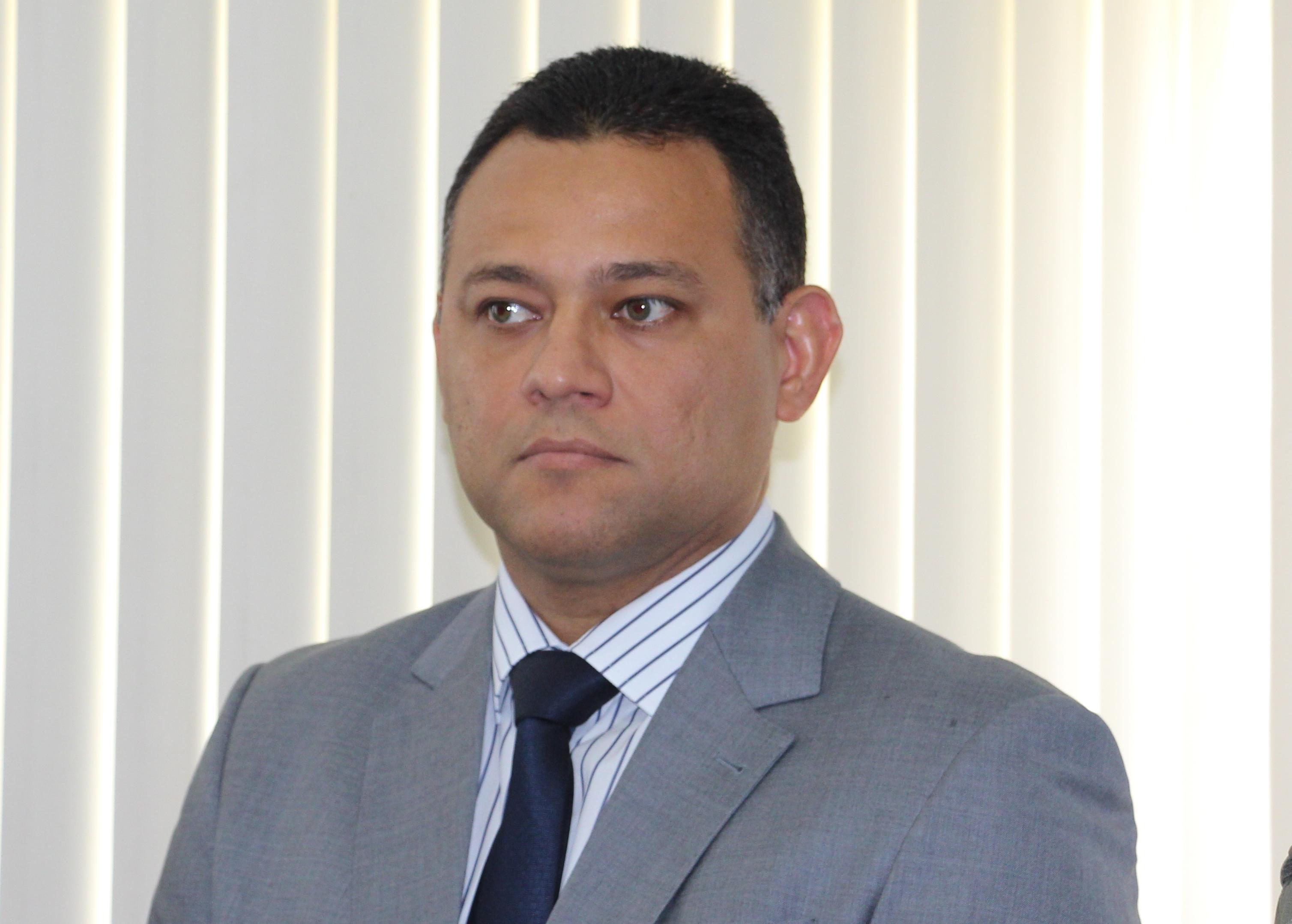 Delegado geral da Polícia Civil do Piauí Riedel Batista