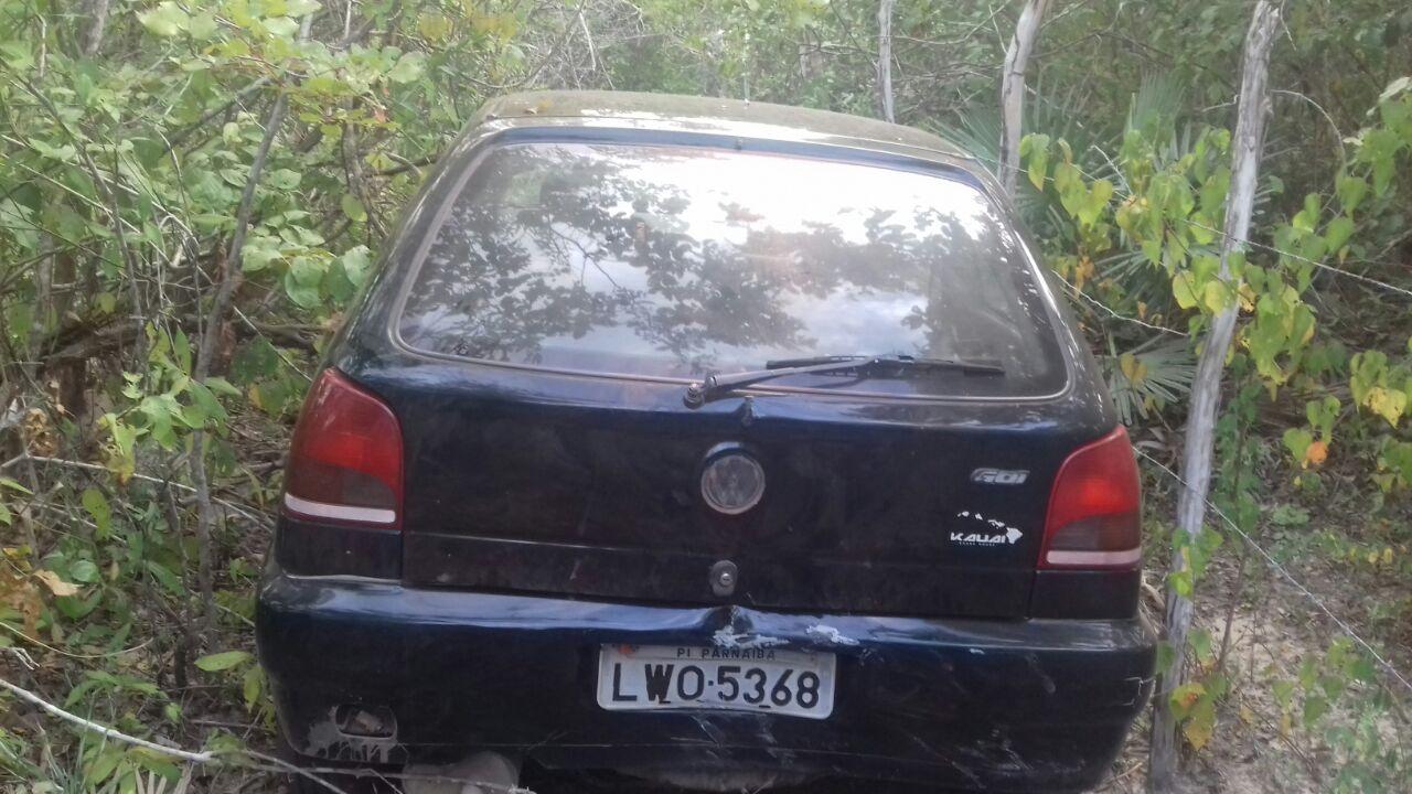 No Piauí, PRF prende homem com arma e recupera veículo furtado