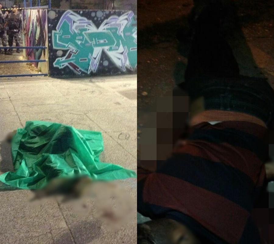 Dois jovens são assassinados em tiroteio no Jóquei.