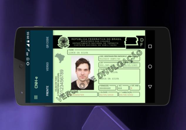 Carteira de habilitação digital já pode ser baixada para Android