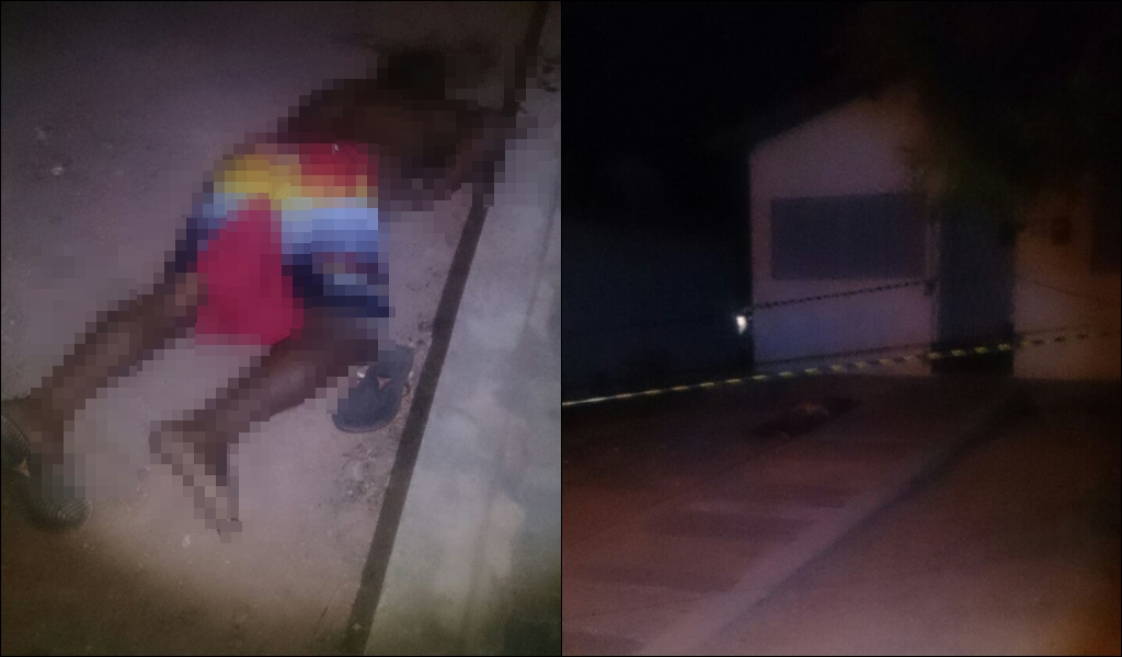 Homem é executado com dois tiros; trio chegou encapuzado em veículo