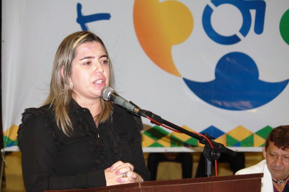 Flávia Gomes Cordeiro, promotora de Justiça.