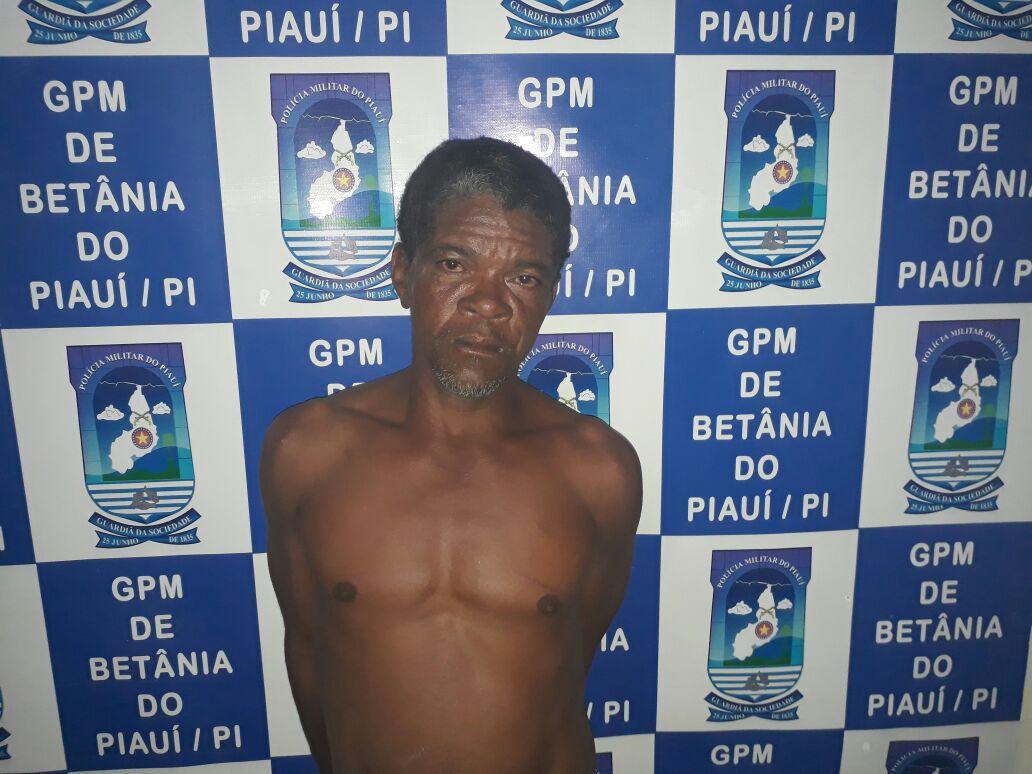 Lavrador é preso após tentar matar esposa em Betânia do Piauí