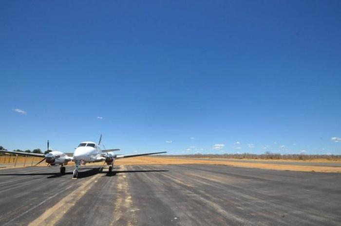 Foto  Divulgação Governo do Estado Aeroporto de São João do Piauí será inaugurado  nesta sexta-feira (12). cd006c1968b83