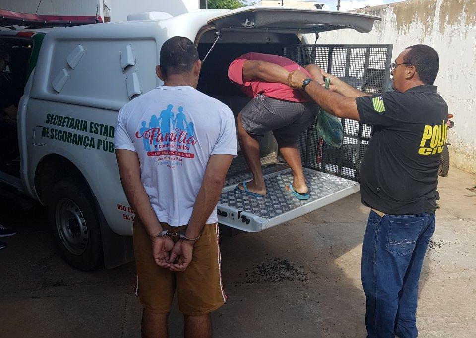 Prisões da operação Vale do Sambito