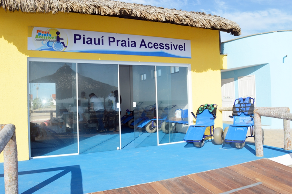 Projeto Piauí Praia Acessível.