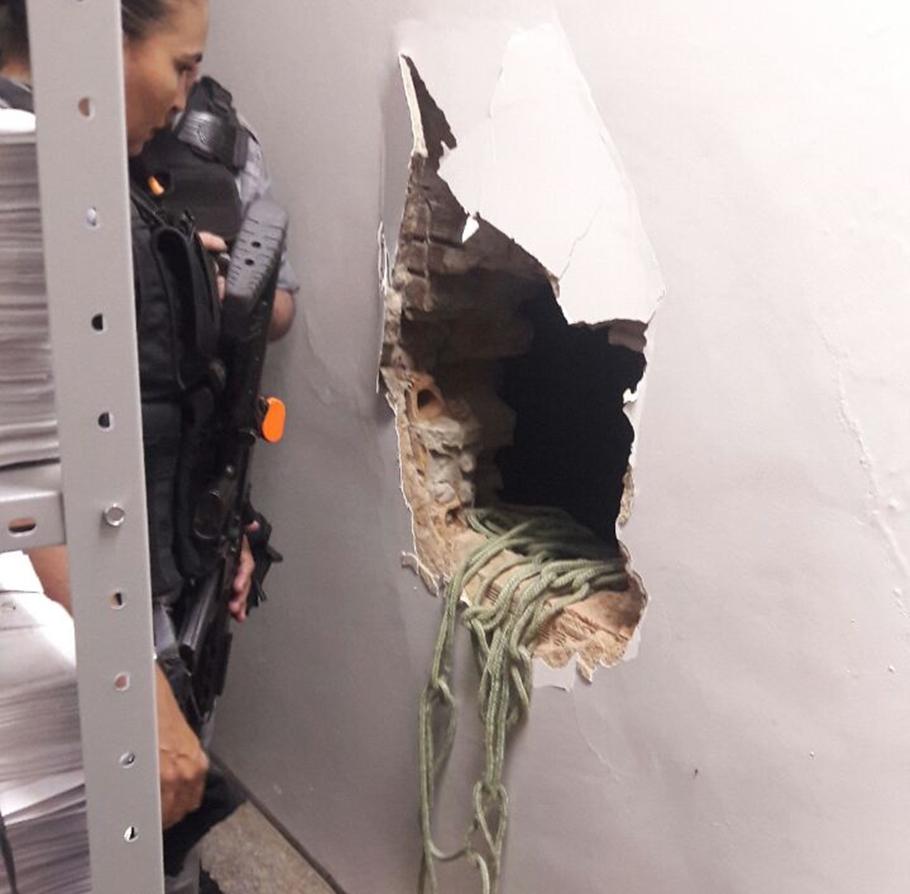 Bandidos arrombam agência da Caixa Econômica no Piauí