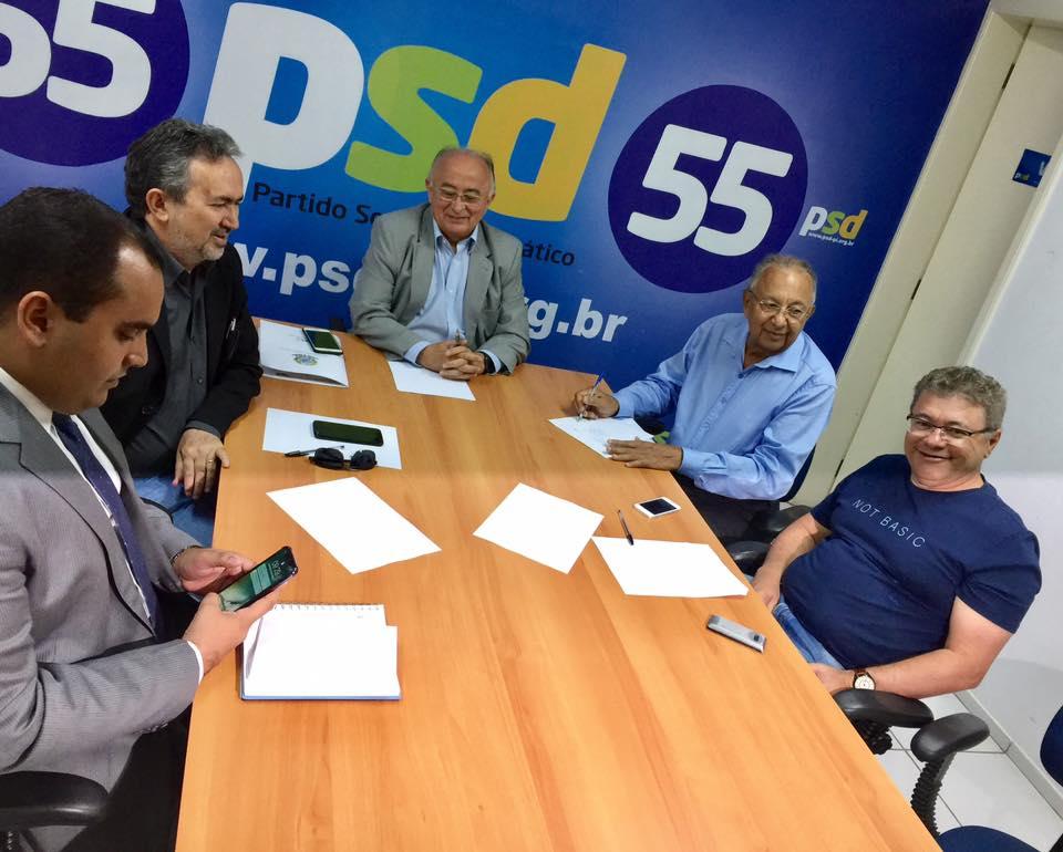 Reunião do Diretório Estadual do PSD