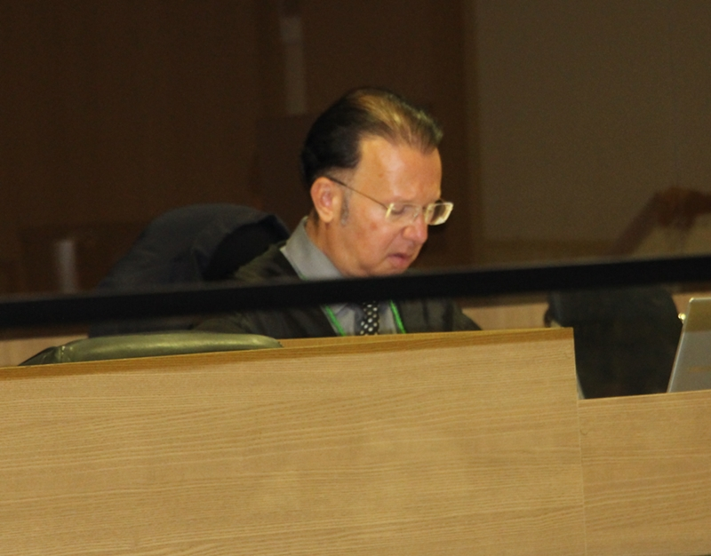 O Advgado de Defesa de Allison Wattson, Pitágoras Veloso