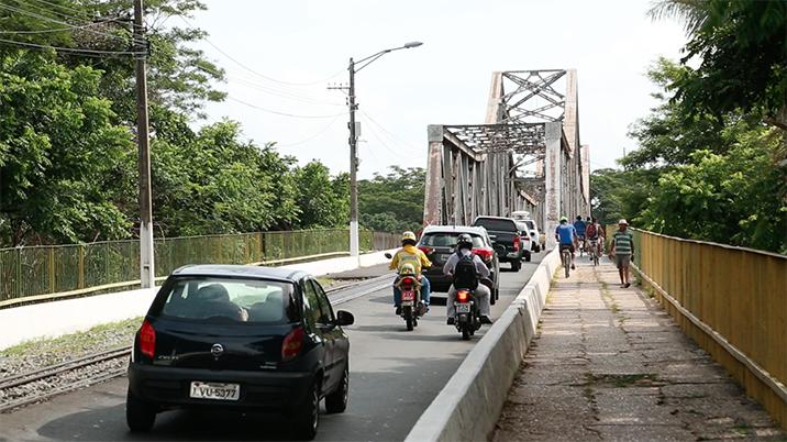 Tráfego na Ponte Metálica passará por alterações