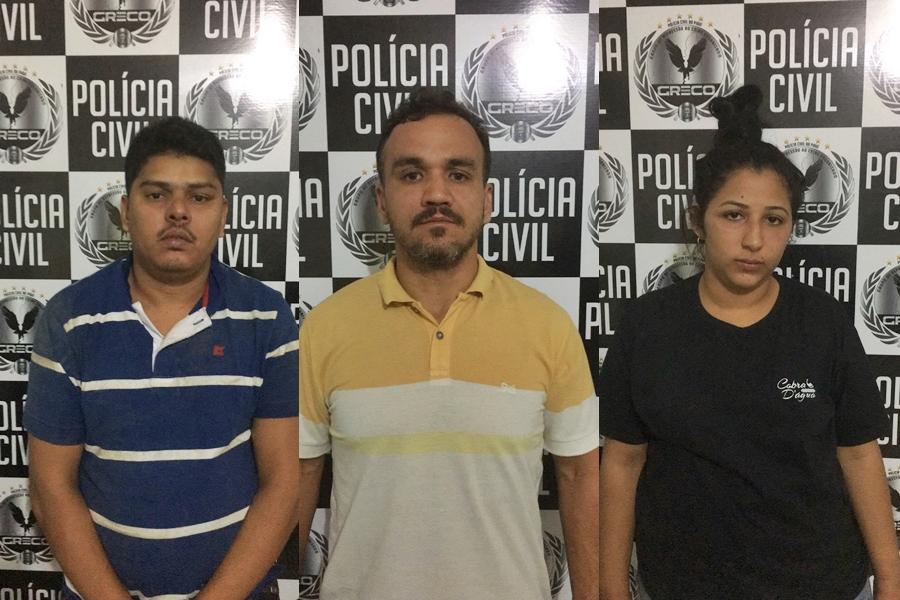 Fernando Machado Vasconcelos, vulgo Geleia, Fábio Mendes Gonçalves Cordeiro e Isis Maria Barros