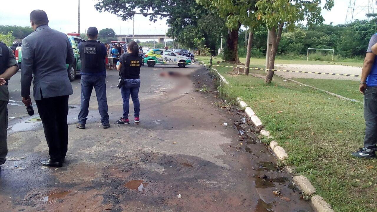 Mulher encontrada morta na Avenida Maranhão