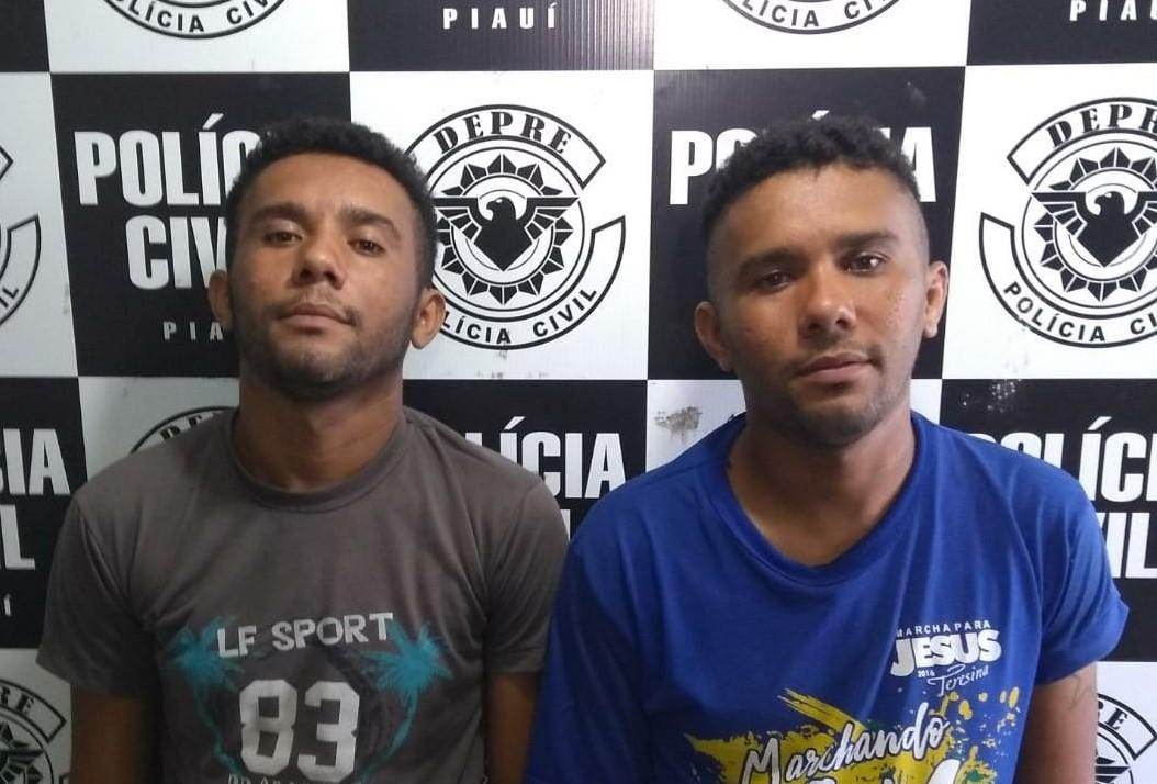 Irmãos Márcio Sousa Xavier e Marcos Sousa Xavier.