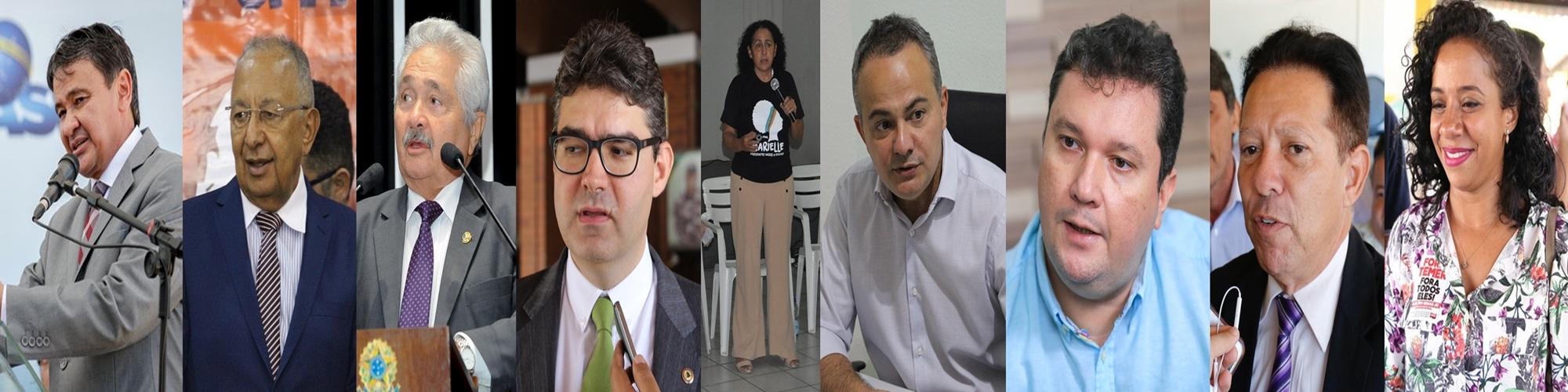 Candidatos ao Governo do Piauí nas Eleições 2018.