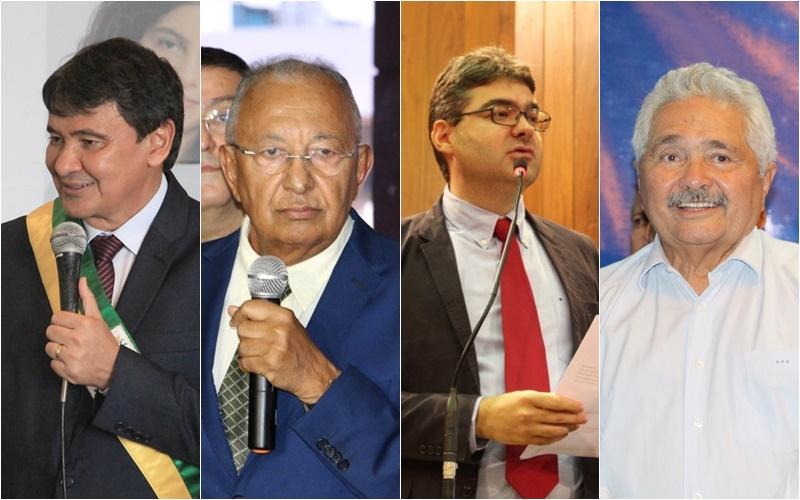 Wellington Dias, Dr. Pessoa, Luciano Nunes e Elmano Férrer