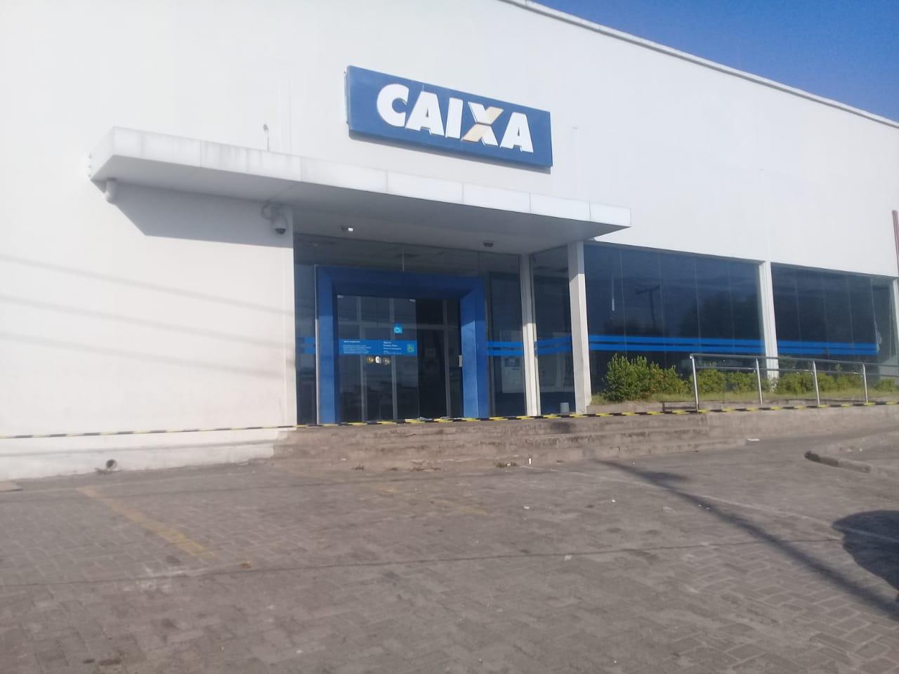 Agência da Caixa na Avenida Duque de Caxias
