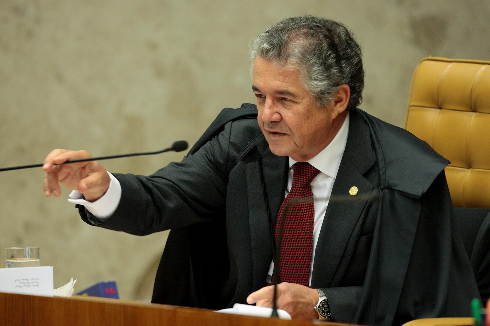 Ministro Marco Aurélio Mello, do Supremo Tribunal Federal.