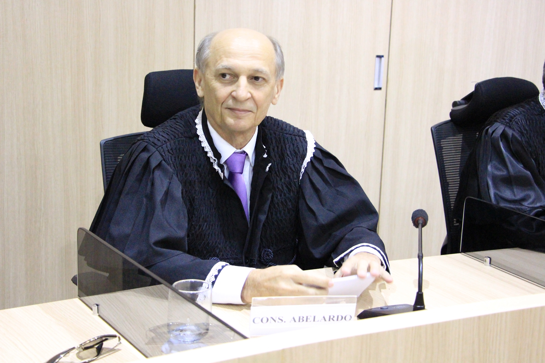 Novo Presidente do Tribunal de Contas do Estado, Abelardo Vilanova