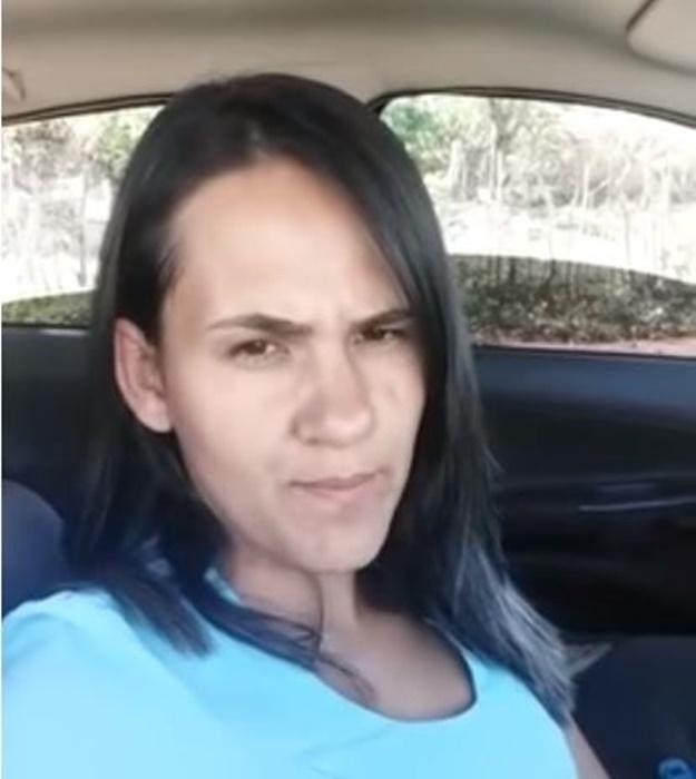 Jessica Lima, filha mais velha de Roberto Cardoso