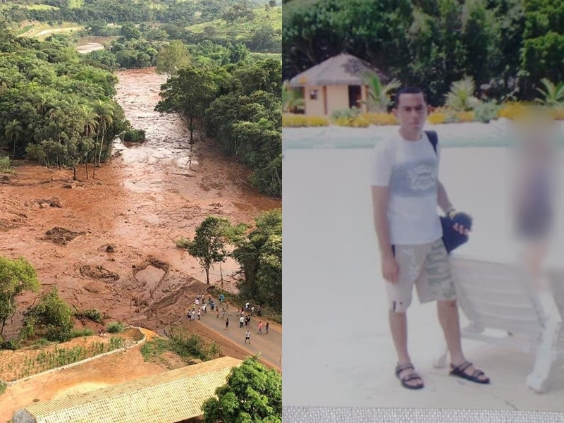 Piauiense desaparecido no desastre ambiental de Brumadinho.