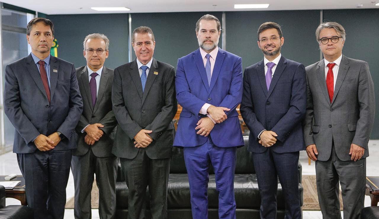 Firmino Filho se reúne com presidente do STF.