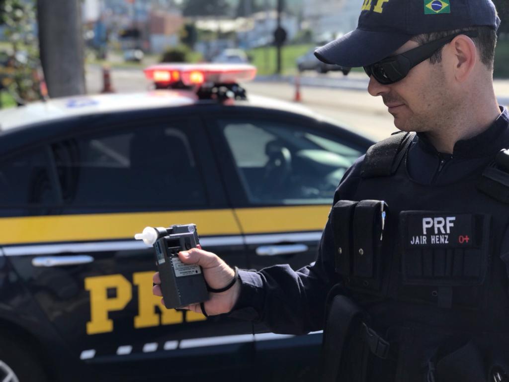 A Polícia Rodoviária Federal continua com a Operação nas estradas