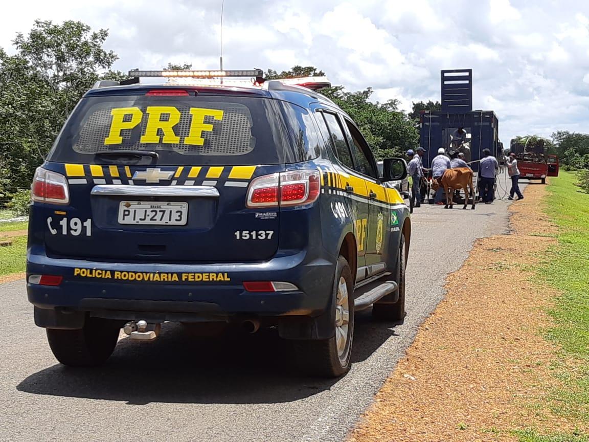 PRF busca diminuir número de acidentes nas pistas.