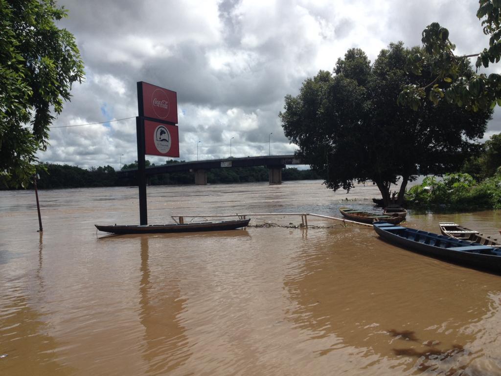 Àguas do Rio Poti alaga restaurante Pesqueirinho
