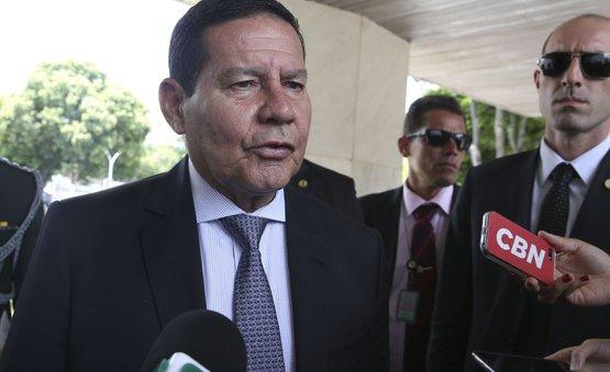 Mourão exercerá Presidência da República por mais quatro dias