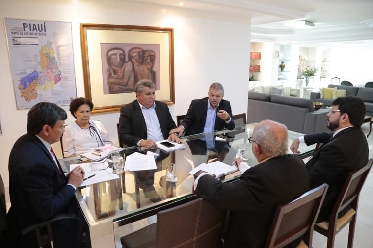 Wellington Dias se reuniu com gestores para tratar do pagamento de recursos relativos à venda da Cepisa.