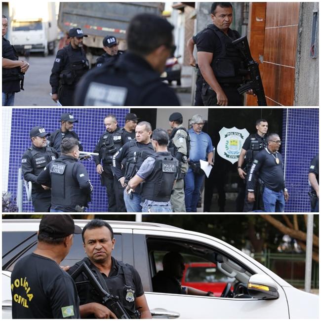 Polícia deflagra operação e cumpre mandados de prisão no Piauí.