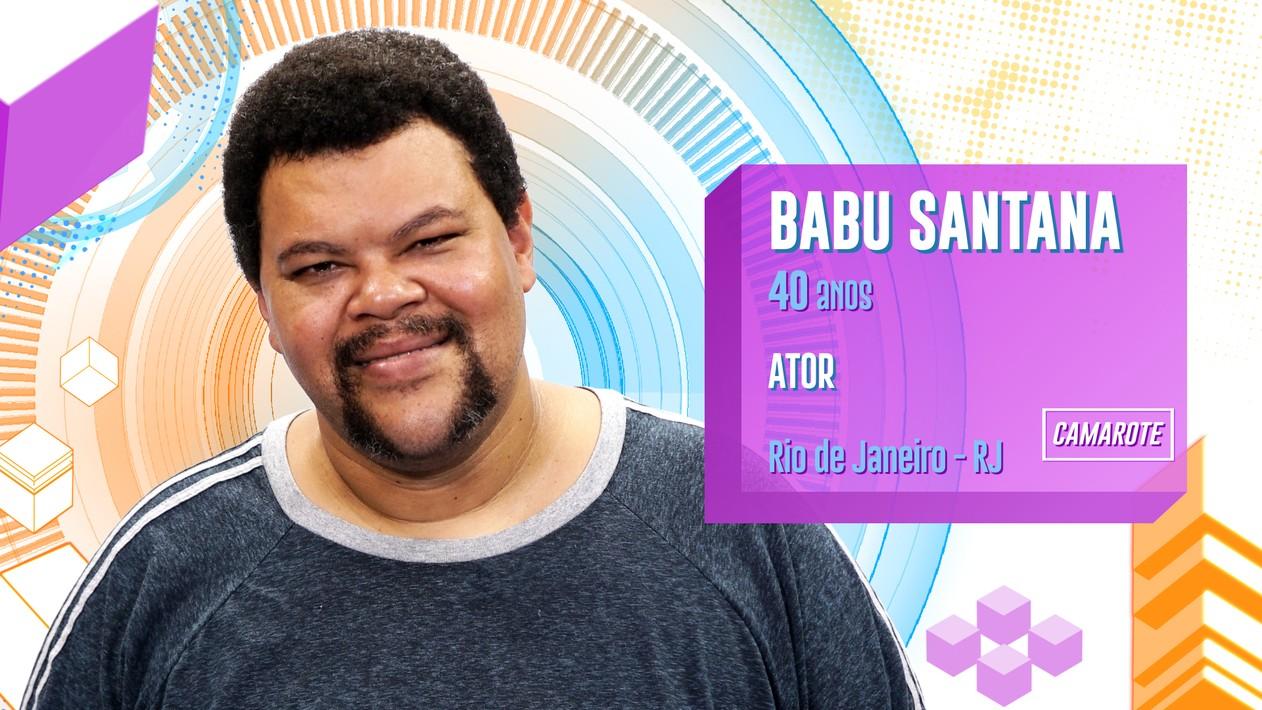 Babu é ator e interpretou Tim Maia.