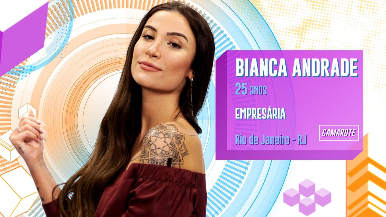 Bianca Andrade, selecionada.