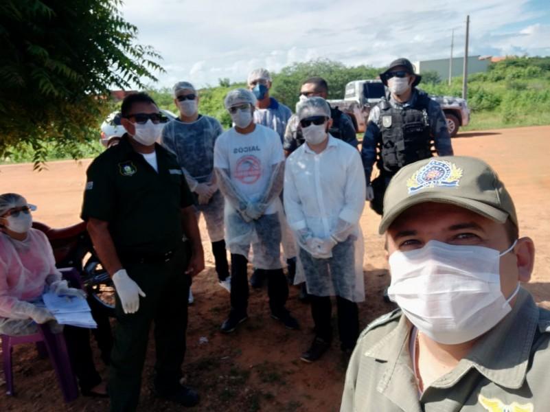 PM em ações contra o coronavírus