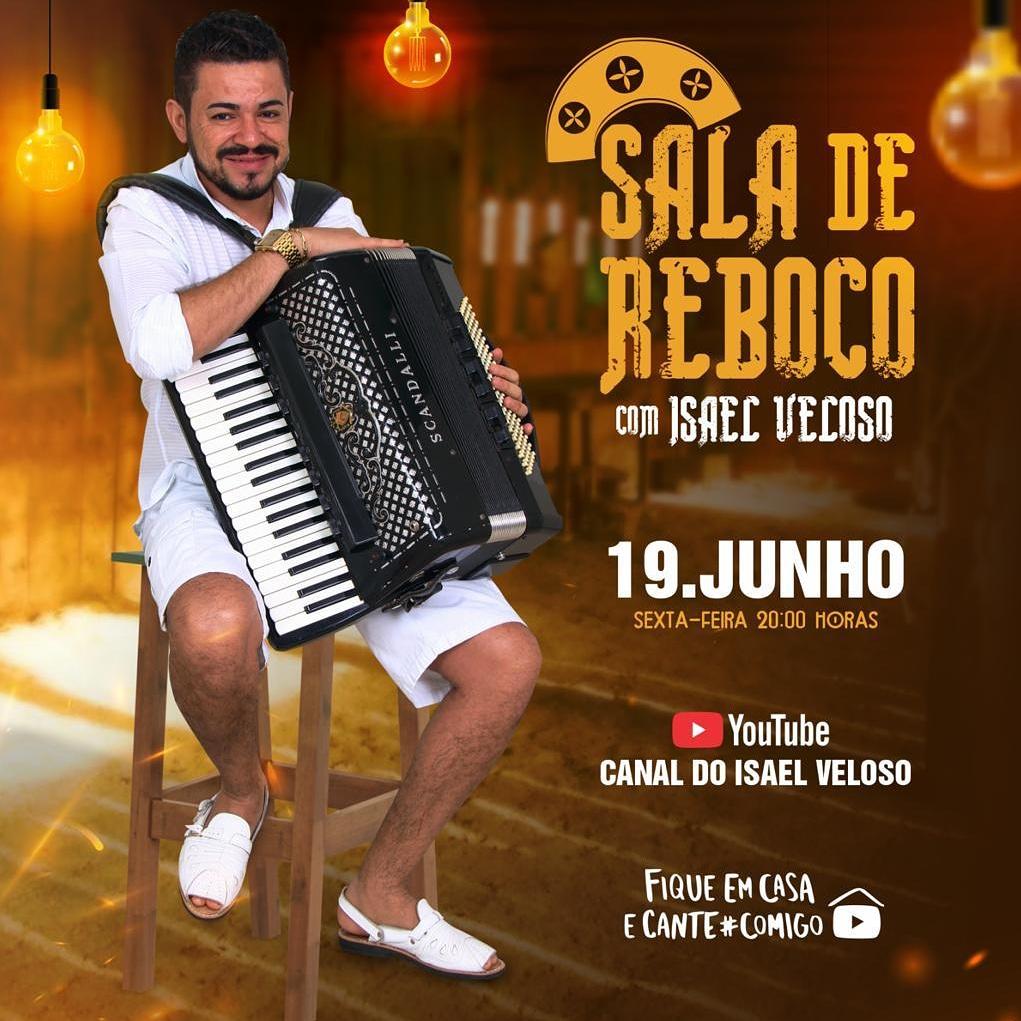 Cantor piauiense Isael Veloso realiza live nesta sexta-feira