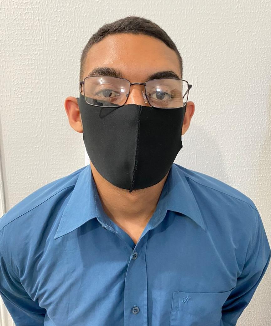 O suspeito foi preso na cidade de Altos e encaminhado para a Central de Flagrantes.