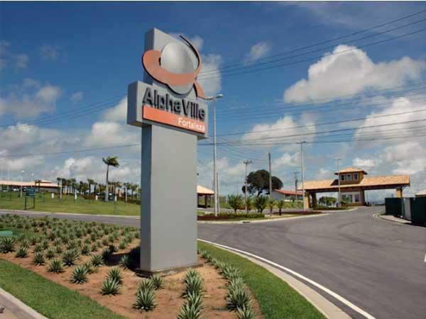 Empreendimento imobiliário Terras Alphaville localizado na BR 343(Imagem:Reprodução)