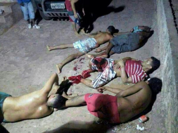 Massacre no Complexo Penitenciário de Pedrinhas.(Imagem:Reprodução)