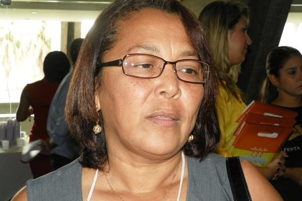 Prefeita da Canavieira, Elvina Borges(Imagem:Brunno Suênio)