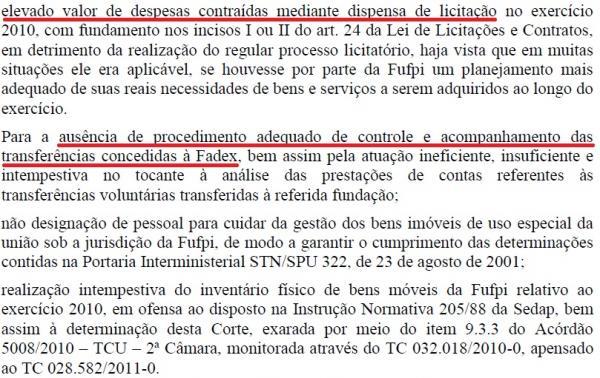 Relatório do TCU aponta fraude em licitações realizadas pela UFPI(Imagem:Reprodução)
