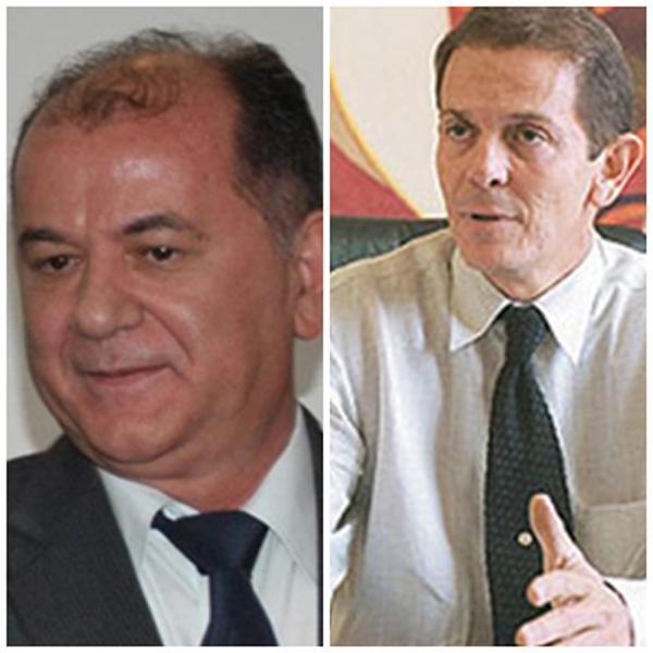 Secretária Ernani Maia e o empresário Paulo Guimarães.(Imagem:Reprodução)
